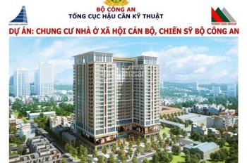 1.4 tỷ có ngay CH 2 PN, 70m2 tại chung cư Bộ Công An 282 Nguyễn Huy Tưởng - Thanh Xuân. 0919130482