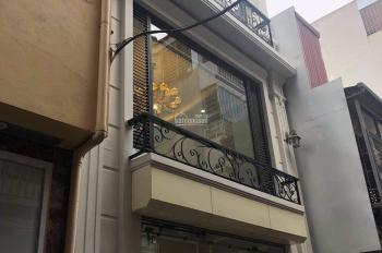 Chính chủ cần bán ngôi nhà 6 tầng, 50m2, mặt tiền 4.8m, ngõ ô tô vào nhà, giá 12,5 tỷ, 0975960803