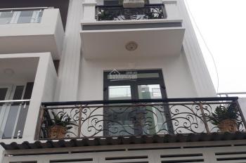 Cho thuê nhà nguyên căn hẻm Nguyễn Cửu Đàm, DT nhà 4x20m, 3 lầu ST, nhà mới đẹp, nội thất cao cấp