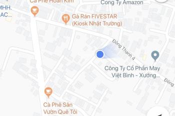 Bán đất góc 2 mặt tiền hẻm 1 trục HXT đường ĐT4, xã Đông Thạnh, huyện Hóc Môn, DT 6x16m, 0909779498