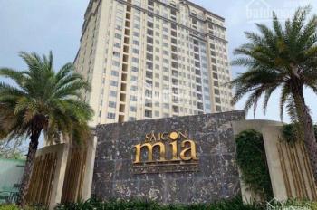 Cho thuê căn hộ Sài Gòn Mia, full nội thất, bao phí quản lý chỉ từ 8tr - 14tr/th. LH 0939720039