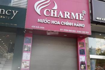 Cho thuê nhà mặt phố số 456 Xã Đàn, Hà Nội. LH: 0914347241