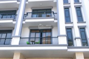 Nhà thô hoàn thiện mặt ngoài 7x21m, hầm + 4 lầu, Vạn Phúc, Thủ Đức khu TT thương mại giá 17 tỷ