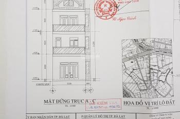 Cần bán đất tại đường Lương Đình Của, Phường 11, thành phố Đà Lạt. Giá bán: 3,9 tỷ (có TL)