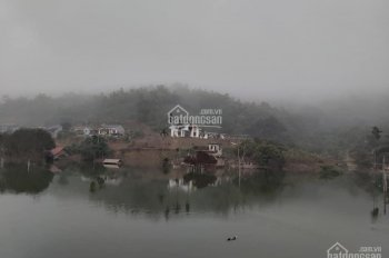 Cực phẩm nghỉ dưỡng homestay, lưng tựa núi chân hướng thủy, view chính diện hồ, xung quanh nhiều BT