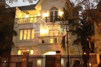 Cho thuê biệt thự tại KĐT Linh Đàm, diện tích 275m2, 4 tầng, khu vip, LH: 0985.765.968