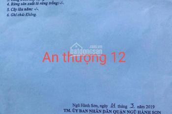 Bán nhà 2 tầng mặt tiền An Thượng 12 khu vực sầm uất: 0935572689