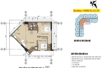 Bán chung cư B32 Đại Mỗ (Nhà ở CBCS TC5), 88m2, giá 1.4 tỷ, gần Aeon Mall
