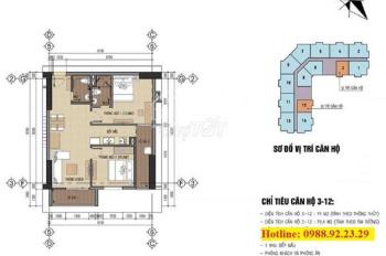 Chính chủ bán căn chung cư B32 Đại Mỗ (chung cư CBCS cục B32). Căn 74m2, giá 1.52 tỷ, gần Aeon Mall
