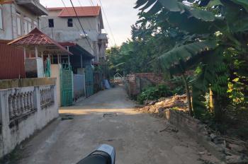 Bán đất ở Tráng Việt - dốc Đông Cao - gần đền Hai Bà Trưng - Mê Linh. Ô tô vào, DT 45m2, giá 320tr