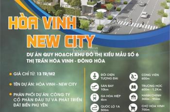 Đất nền trung tâm Hòa Vinh, Hòa Hiệp - Thị xã Đông Hòa Lh 0905339397