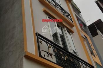 Nhà 2.6 tỷ ô tô đậu cửa phố Bà Triệu - cấp 3 Lê Lợi 5 tầng (34m2 - 3PN), 0969419928