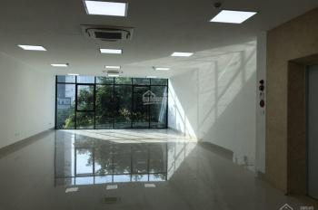 Cho thuê mặt bằng tầng 2 mặt đường Lạc Long Quân rất đẹp 110m2/sàn cơ bản, giá 18 tr/th: 0978258650