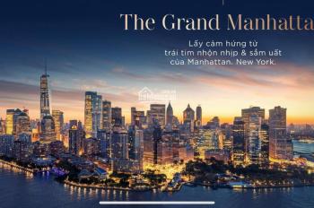 Căn hộ The Grand Manhattan trung tâm quận 1, giá tốt uy tín cho KH, thanh toán 1%/tháng
