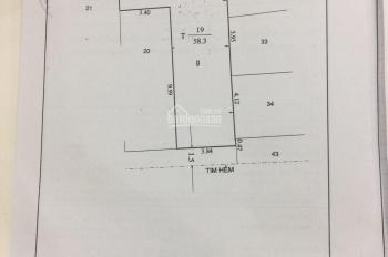 Bán nhà hẻm 1 sẹc đường Cách Mạng, P Tân Thành, Q Tân Phú, 3.9x13m NH6m giá 4.55 tỷ, LH 0773686887