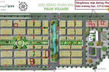 Shophouse LK cuối cùng mặt 31m, 56m vốn ban đầu 600tr FLC Tropical City. LH Ms Thảo 0969162476