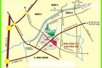 Người ta cần sang gấp lô đất KDC 13E Intresco, Phong Phú, Bình Chánh, DT 100m2, TT 1,6 tỷ, bao tên