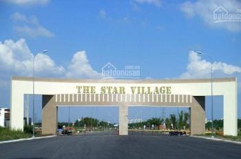 Đất dành cho nhà đầu tư KDC Star Village Intresco Long Thới Nhà Bè. Giá chỉ 12tr/m2, sổ hồng riêng