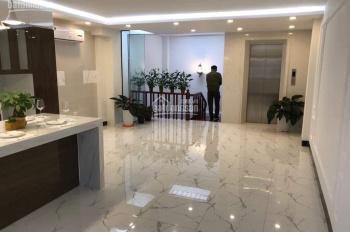 Bán gấp nhà mặt phố Hoàng Sâm 17 tỷ 90m2 xây 5 tầng đẹp đường hè 20m tiện ở, kinh doanh cho thuê