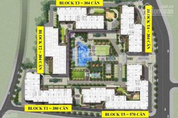 Giá gốc chủ đầu tư, không bán chênh lệch căn số 1 block AK6, diện tích 121m2 - 0916.099.88