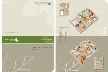 Bán gấp hai căn Duplex Mandarin 266,7m2 & 307m2. Liên hệ 0974681333