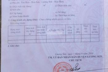 Cần bán 4000m2 đất gần ủy ban xã Hòa Sơn, Lương Sơn, Hòa Bình