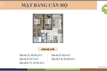 Cần bán căn hộ Sài Gòn Royal - 2PN - view cực đẹp - dọn vào ở ngay - bao phí - 0905.17.5566