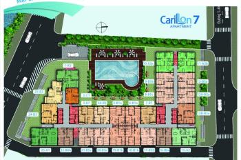 Carillon 7 - chính chủ bán nhanh căn số 1 - 88m2 H. Bắc view hồ bơi 3PN - 2WC - 2,73 ty