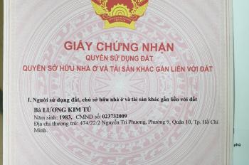 Cần bán gấp nhà chính chủ hẻm đường 24, phường Long Thạnh Mỹ, Q9, TP.HCM LH 0918003323