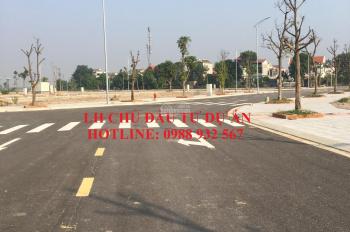 Chỉ với 1,4 tỷ sở hữu ngay sổ đỏ lâu dài lô đất cạnh KCN Vsip 2 - Yên Phong. LH 0988 932 567