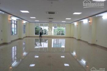 Văn phòng Hoàng Quốc Việt 120m2 chỉ 15tr/th, oto đỗ cửa, hầm để xe rộng, mặt tiền siêu to