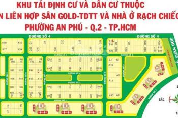 Bán ngay lô đất KDC Nam Rạch Chiếc, MT Đỗ Xuân Hợp, Q2, DT 120m2 - Giá TT 30tr/m2. LH 0708.584858