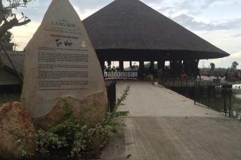 Bán gấp nền đất sổ đỏ ở KDC sinh thái Làng Sen Việt Nam