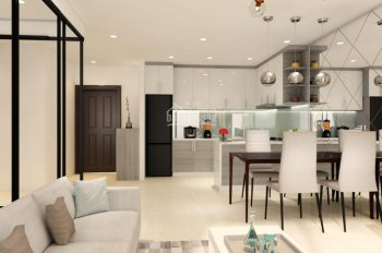 Căn hộ Estella cho thuê căn 2PN, 98m2, nội thất nhà mới đẹp, lầu cao (giá 20 triệu/tháng)