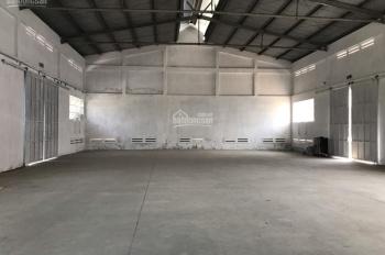 Cần cho thuê kho chứa hàng ngay mặt tiền Quốc Lộ 1A ngay chợ Bình Chánh, huyện Bình Chánh, TP. HCM