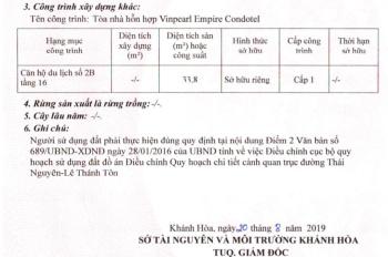 Cỗ máy kiếm tiền tự động với căn hộ khách sạn 5 sao Vinpearl Lê Thánh Tôn 1.75 tỷ