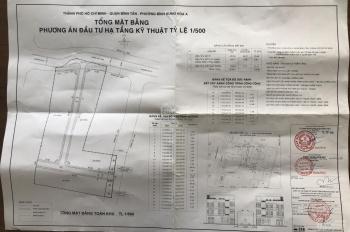 Dự án ECO Bình Tân đã có quyết định phân lô và phê duyệt bản vẽ 1/500