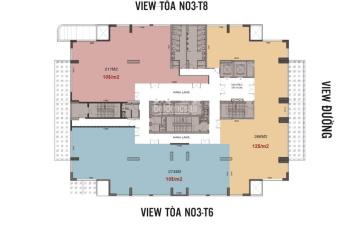 Cho thuê sàn thương mại - tòa N03T7 - khu đô thị Ngoại Giao Đoàn - 0915122325