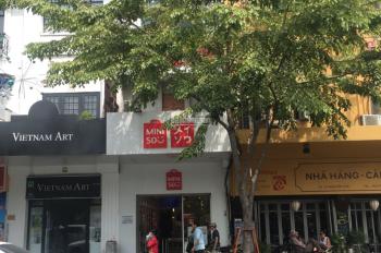 Cho thuê nhà MT Nguyễn Huệ, Q1. DT 4.2x22m, 1 lầu, khu cao cấp bậc nhất Sài Gòn