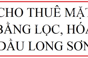 Chính Chủ - Cho Thuê Mặt Bằng Ngay Dự Án Lọc Dầu Long Sơn