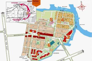 Cần bán căn Penthouse An Viên khu dân cư Nam Long quận 7, diện tích 120m2, giá bán 4.1 tỷ
