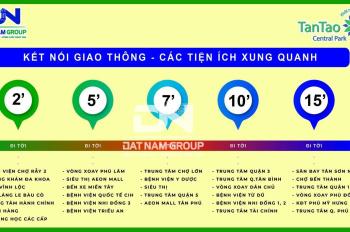 Mở bán giai đoạn F0 29 nền đất khu đô thị Tân Tạo Central Park, Bình Chánh - TP. HCM