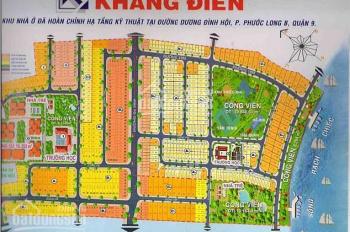Sang nhanh lô đất KDC Khang Điền MT Dương Đình Hội đối diện KDL Lakeview, giá 28tr/m2 Sổ riêng