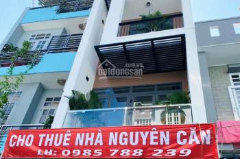 Cho thuê nhà nguyên căn 388/7 Nguyễn Thượng Hiền bên cạnh chung cư Botanic, Phú Nhuận