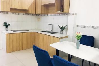Nhà trệt 2 lầu ST đẹp, full nội thất, đường nhựa 6m Vườn Lài, 3.5m x 14m. Giá 13 triệu/tháng