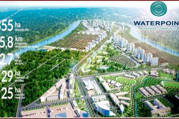 Nam Long ra mắt siêu dự án sinh thái Waterpoint 355ha gồm nhà phố, biệt thự, shophouse, giá 2.6 tỷ