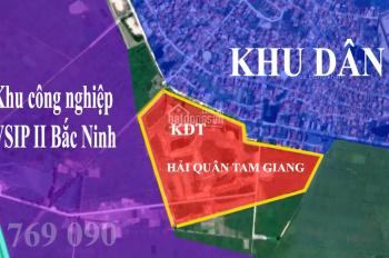 KCN Vsip Bắc Ninh II đang triển khai, sức nóng của KĐT Hải Quân Tam Giang rất lớn. LH: 0984 769 090