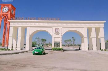 Cần tiền bán lỗ lô góc 2 mặt tiền dự án Hưng Long Residence