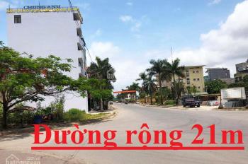 Chính chủ sàn bán ô góc đường 21m dự án Cao Xanh A