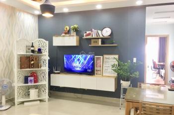 Cho thuê căn hộ Oriental Plaza, DT 77m2, 2PN, NT cơ bản, giá 10tr/tháng, LH 0902541503